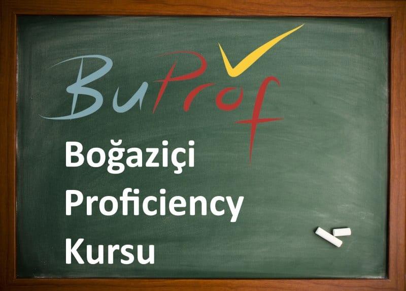boğaziçi proficiency kursu - buprof buept kursu