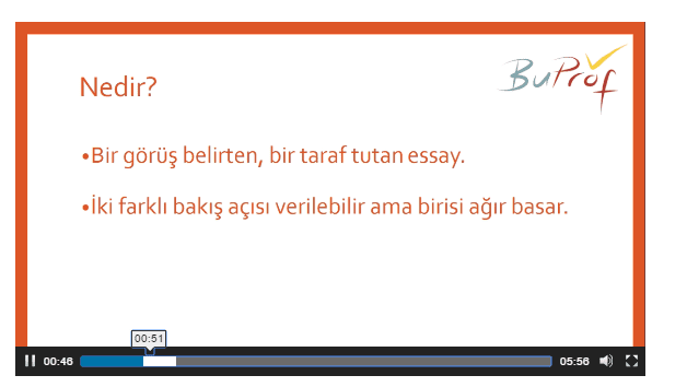 writing eğitimi argümantative essay